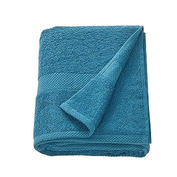 [neu.haus] Toalla de rizo 80 x 200 cm Sábana de baño Toalla de playa Grande para Sauna 100% algodón 450 g/m² Turquesa: Amazon.es: Hogar