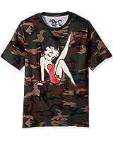 Goodie Two Sleeves Men's Boop Betty Pinut Adult T-Shirt