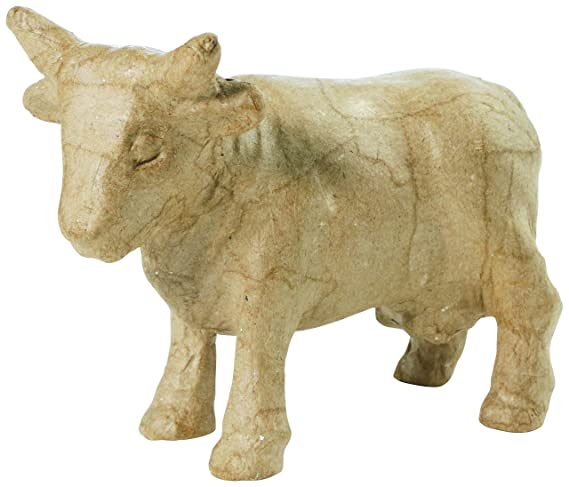 Decopatch Paper Mache Figurine 4.5-Cow