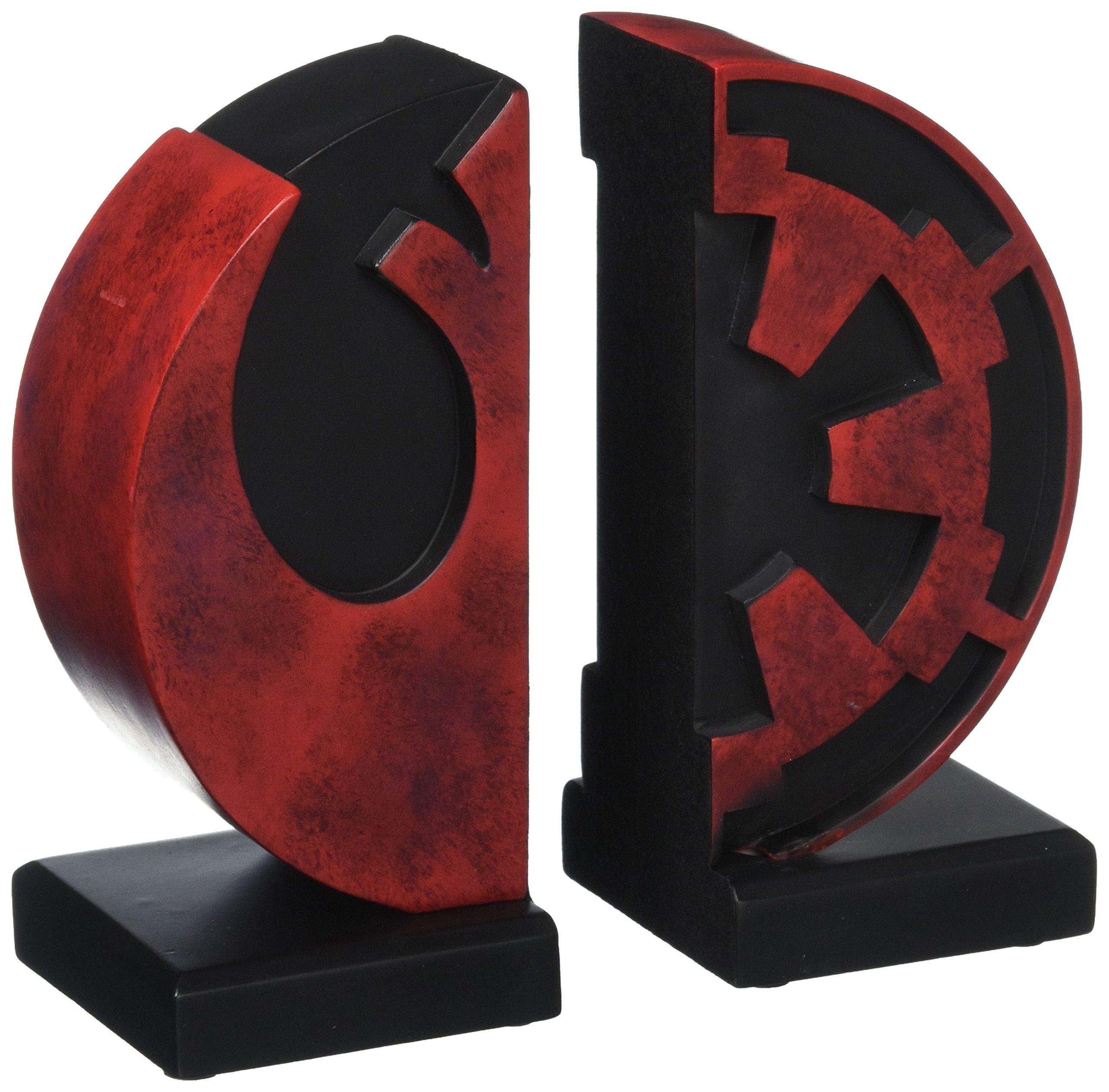 Gentle Giant Studios Star Wars: Imperial Rebel Logo Resin Bookends