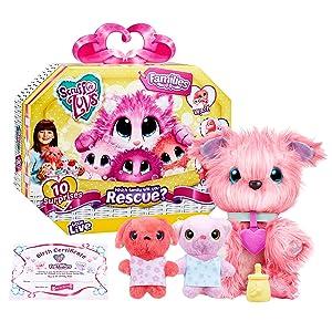 Little Live Pets 30015 Scruff-A-Luvs Family Pack