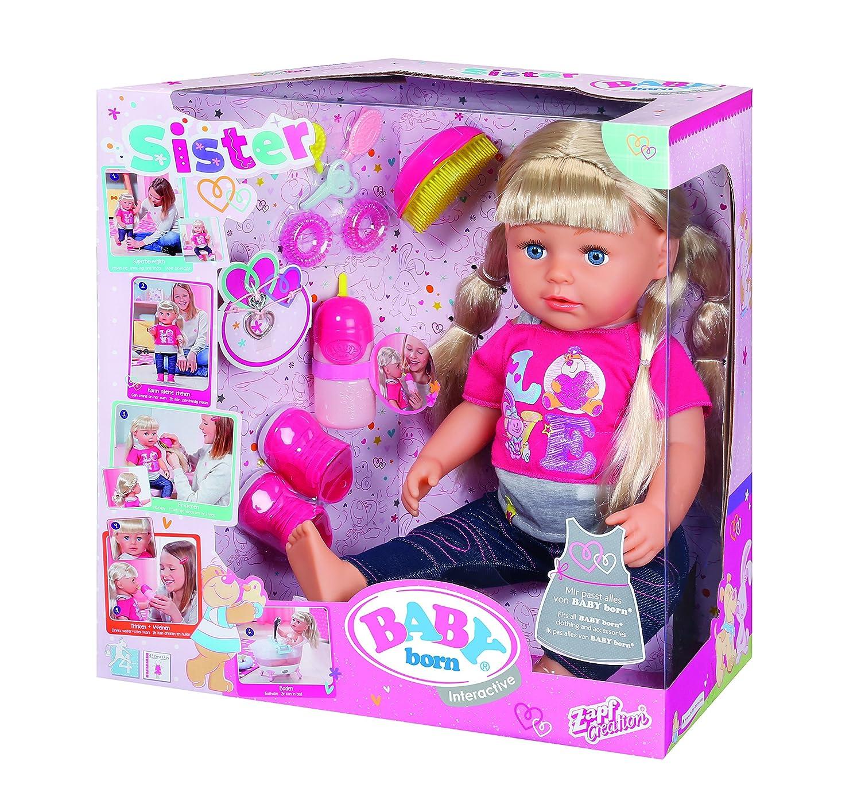 Baby Born Puppen  Fütter Set mit Armband Kleidung & Accessoires