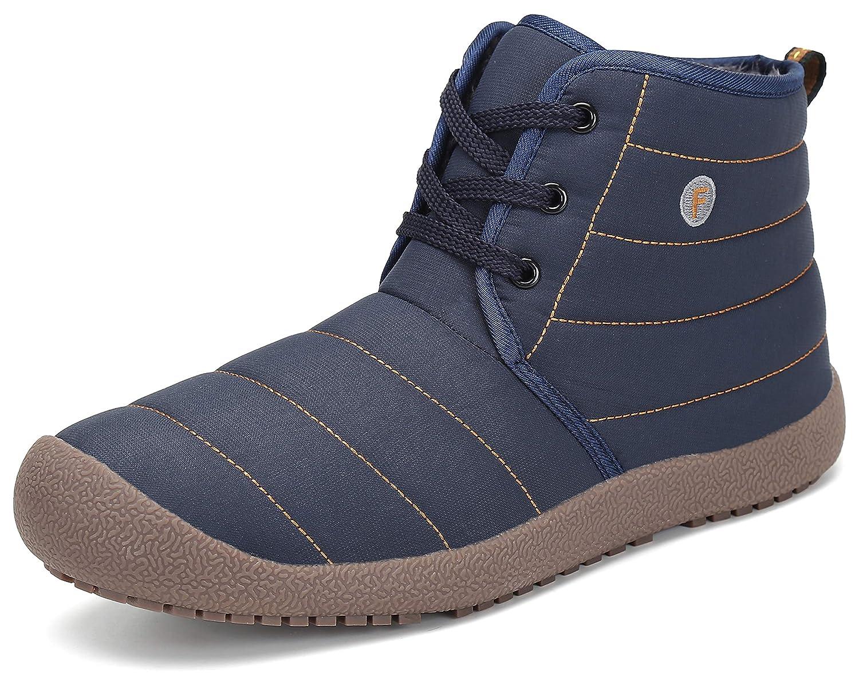 01c0890f7f Stivali Donna Uomo Stivaletti con Pelo Scarpe Invernali Stringate Boots  Caldi e Leggeri e Morbidi
