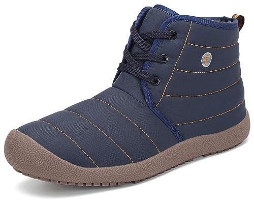 Botines De Mujer Botas Hombre Zapatos Nieve Forradas Piel 7q7twrWA