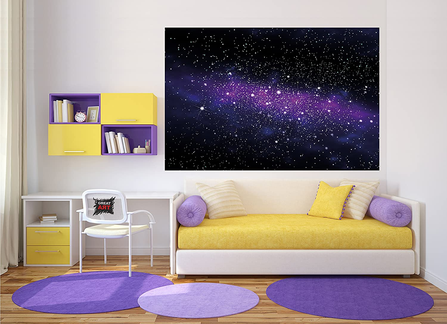 amazon com wallpaper stars wall picture decoration childrens room amazon com wallpaper stars wall picture decoration childrens room outer space sky galaxy universe cosmos starry sky milky way super nova poster wall decor