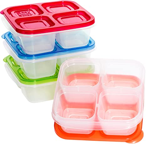 Review EasyLunchboxes 4-Compartment Snack Box