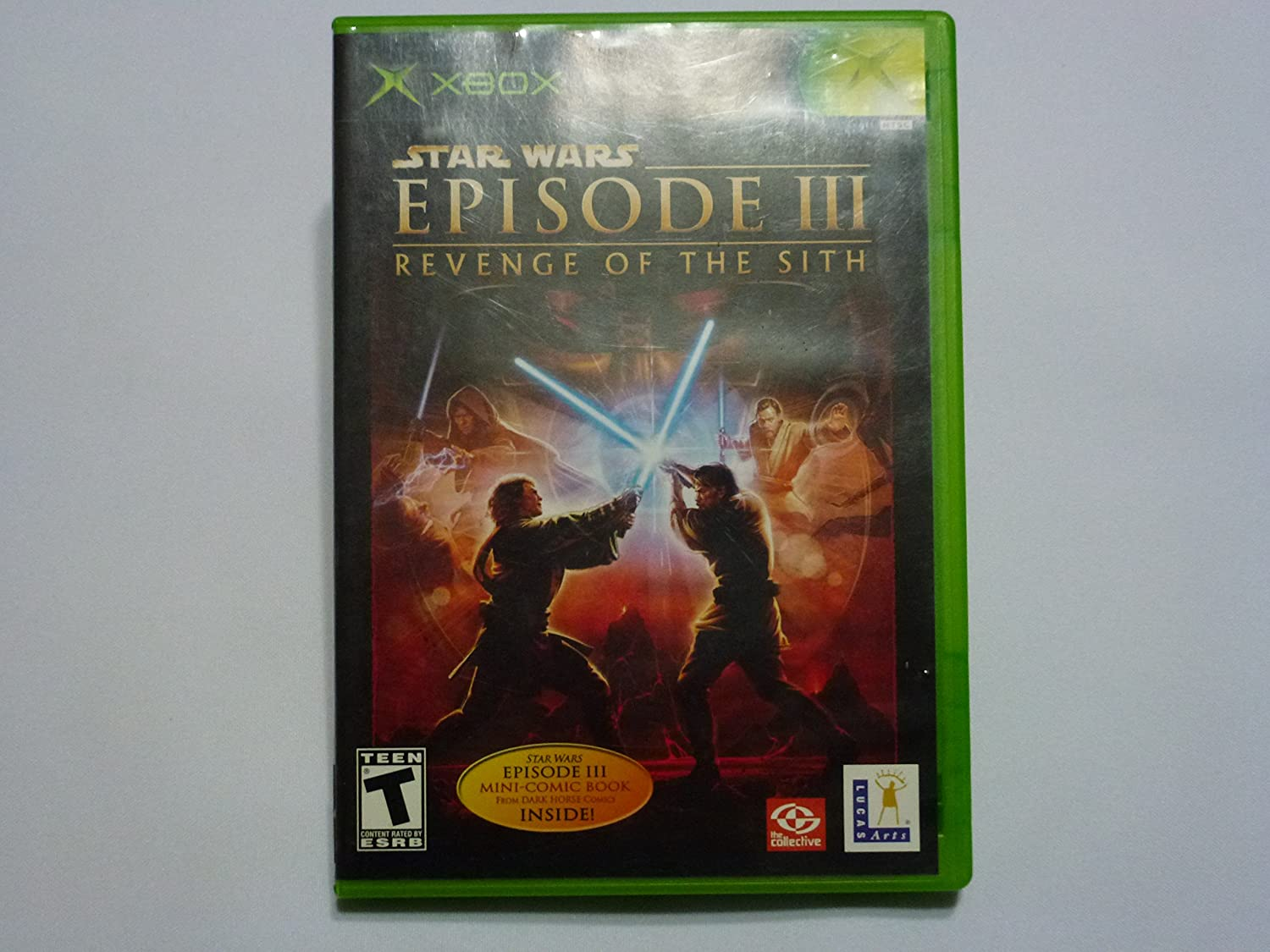 Amazon Com Star Wars Episode Iii Revenge Of The Sith Xbox Video Games