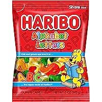 Haribo Alphabet Letters 5-Ounce 12 Units, 1.90-Kilogram