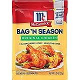 McCormick Bag 'n Season Original Chicken Cooking Bag & Seasoning Mix, 1.25 oz (Pack of 6)