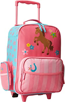 Stephen Joseph Classic Rolling Kids Luggage