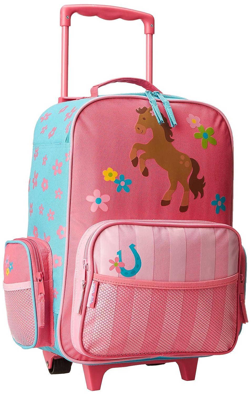 Buy Stephen Joseph Little Girls' Rolling Luggage - Girl Horse ...