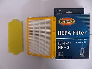Eureka Smart Vac & 4800 Series Filter Set (70082 & Hf2 Filter)