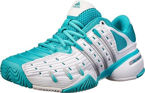 adidas Women's Barricade V Classic Tennis Shoes - White - 43 1/3 ...