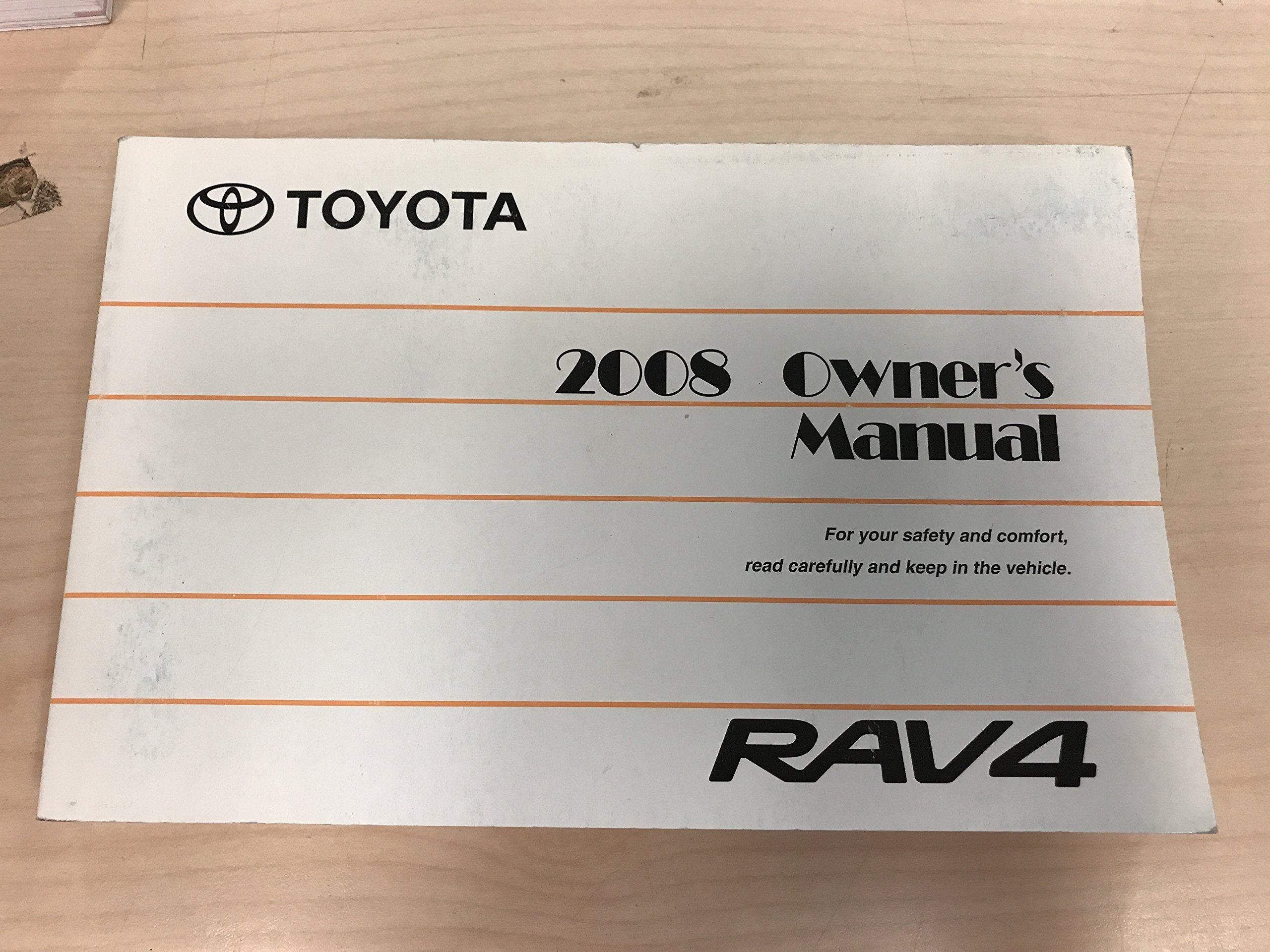 2008 Toyota Rav4 Owners Manual Pdf