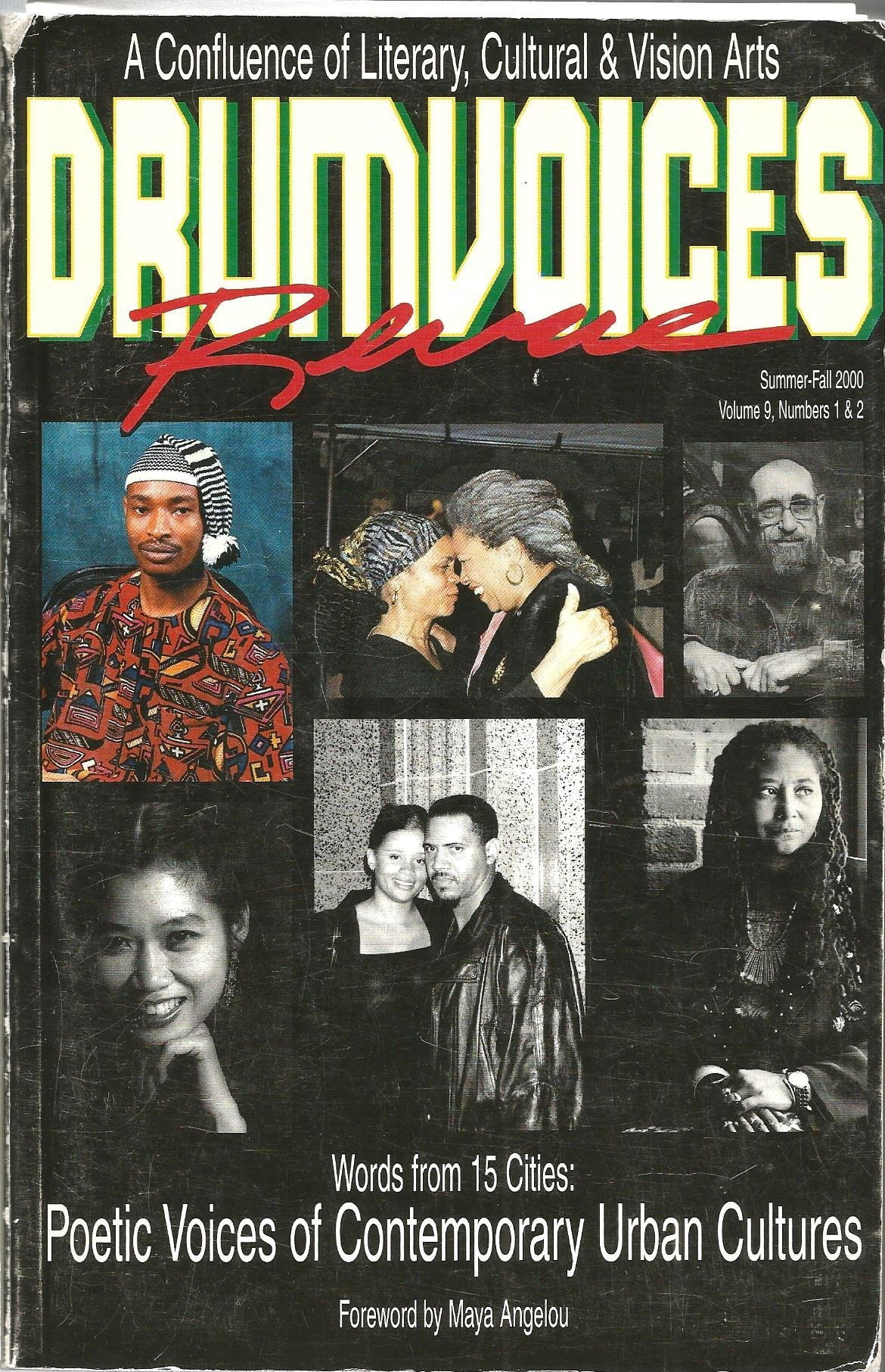 Download Drumvoices Revue (A Confluence of Literary, Culture & Vision Arts), Summer-Fall 2000, Volume 9, Numbers 1 & 2 pdf