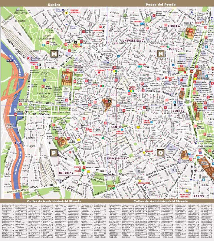 Streetsmart Madrid Map by Vandam: Amazon.es: Stephan Van Dam: Libros en idiomas extranjeros