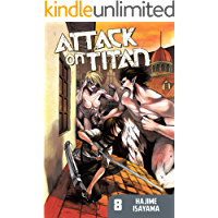 Attack on Titan Vol. 8 book cover