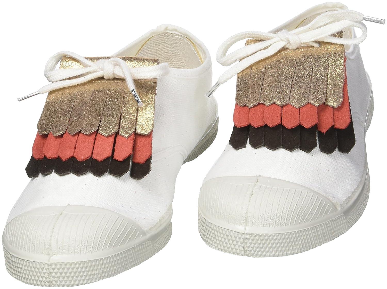 Multicolore Champ//Rose//Brun One Size Bensimon TRIPLETTES Bijoux de chaussures