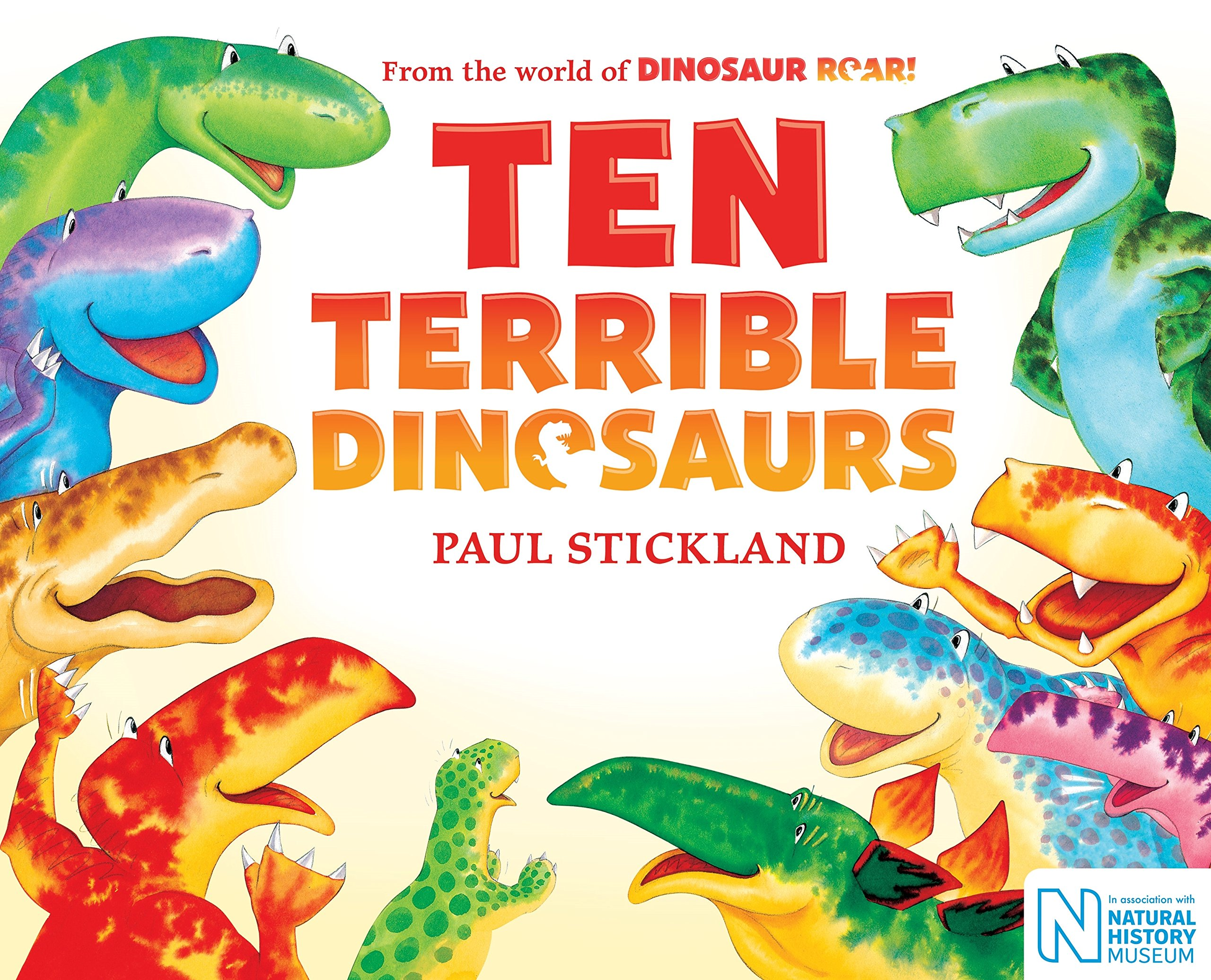 Ten Terrible Dinosaurs PDF