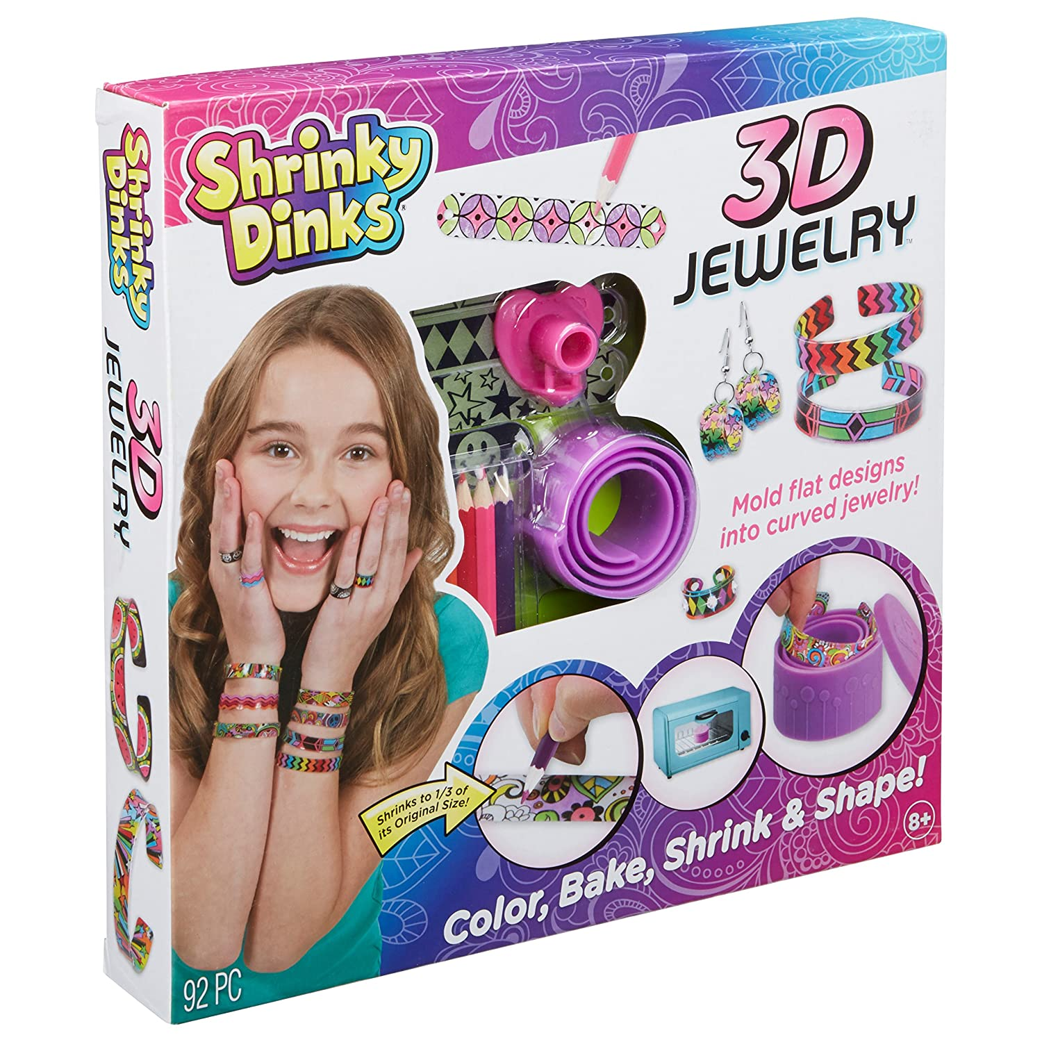 Shrinky Dinks Bake and Shape 3D Jewelry Alex Toys 499w Accessory Consumer Accessories