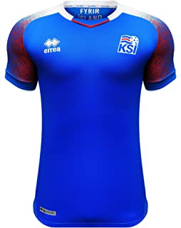 c358b7428 Errea Men s Iceland Home World Cup 2018 Russia Football Shirt ...