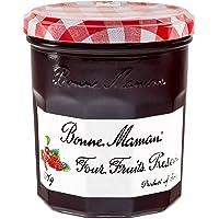 Bonne Maman巧婆婆四个水果混合果酱370g(法国进口)