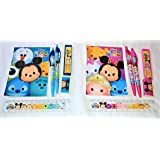 Disney Tsum Tsum Stationery set - Total of 12 sets - Disney Kids Party Favors Bag