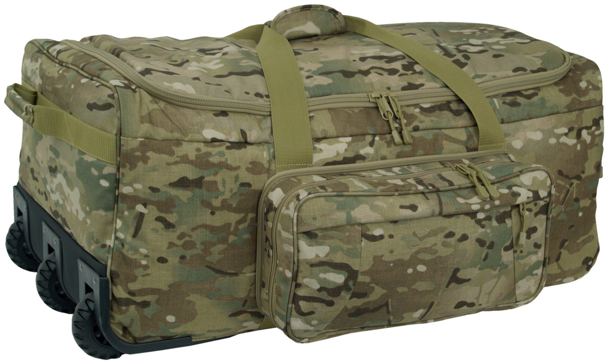 Mercury Tactical Gear Code Alpha Mini Monster Wheeled Deployment Bag Multicam, Multi Cam by Mercury Tactical Gear
