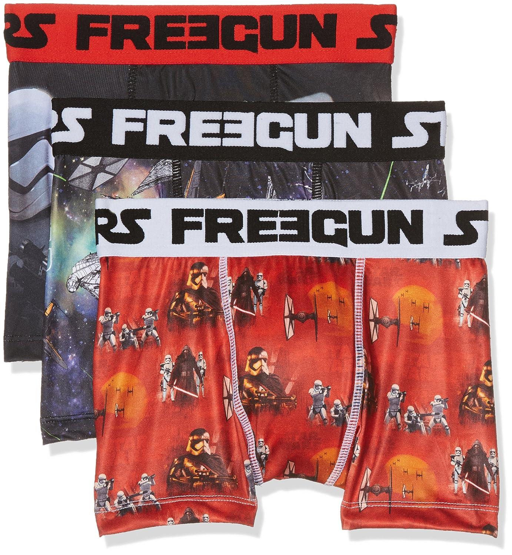 Star Wars Freegun, Boxer de Bain Garçon (Lot de 3) Freegun Star Wars FG/SW/AM/3/PK3