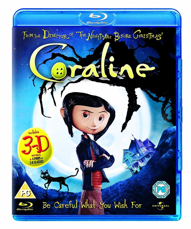 Amazon.com: Coraline [Region Free] (2009) Dakota Fanning; Teri ...