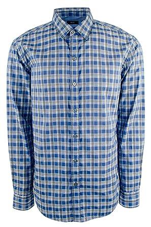 8347ebe1e1d Amazon.com  Hugo Boss Men s Slim-Fit Cotton Button Down Casual Shirt ...