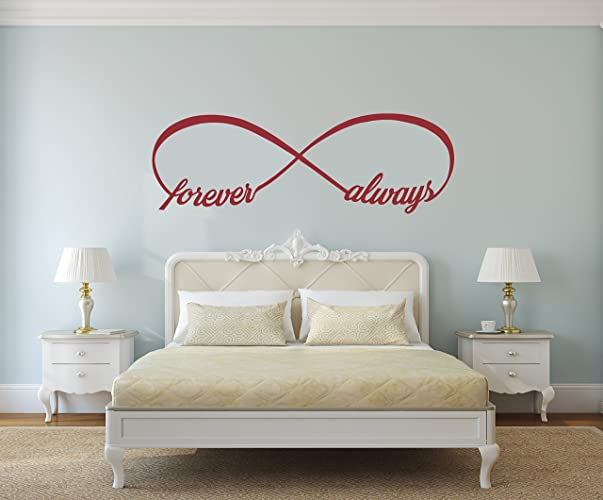 Amazon Forever And Always Infinity Symbol Infinity Wall Decal