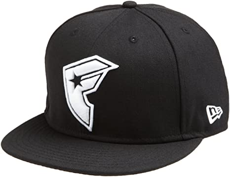 551c4a772d90dd Famous Stars and Straps Men's Iconic BOH New Era Hat, Black/white 7 1
