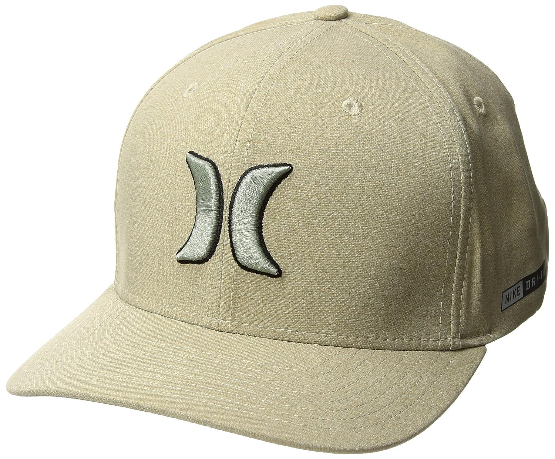 new style e07e1 b23d0 Amazon.com  Hurley Dri-Fit Heather Hat - Khaki - S M  Clothing