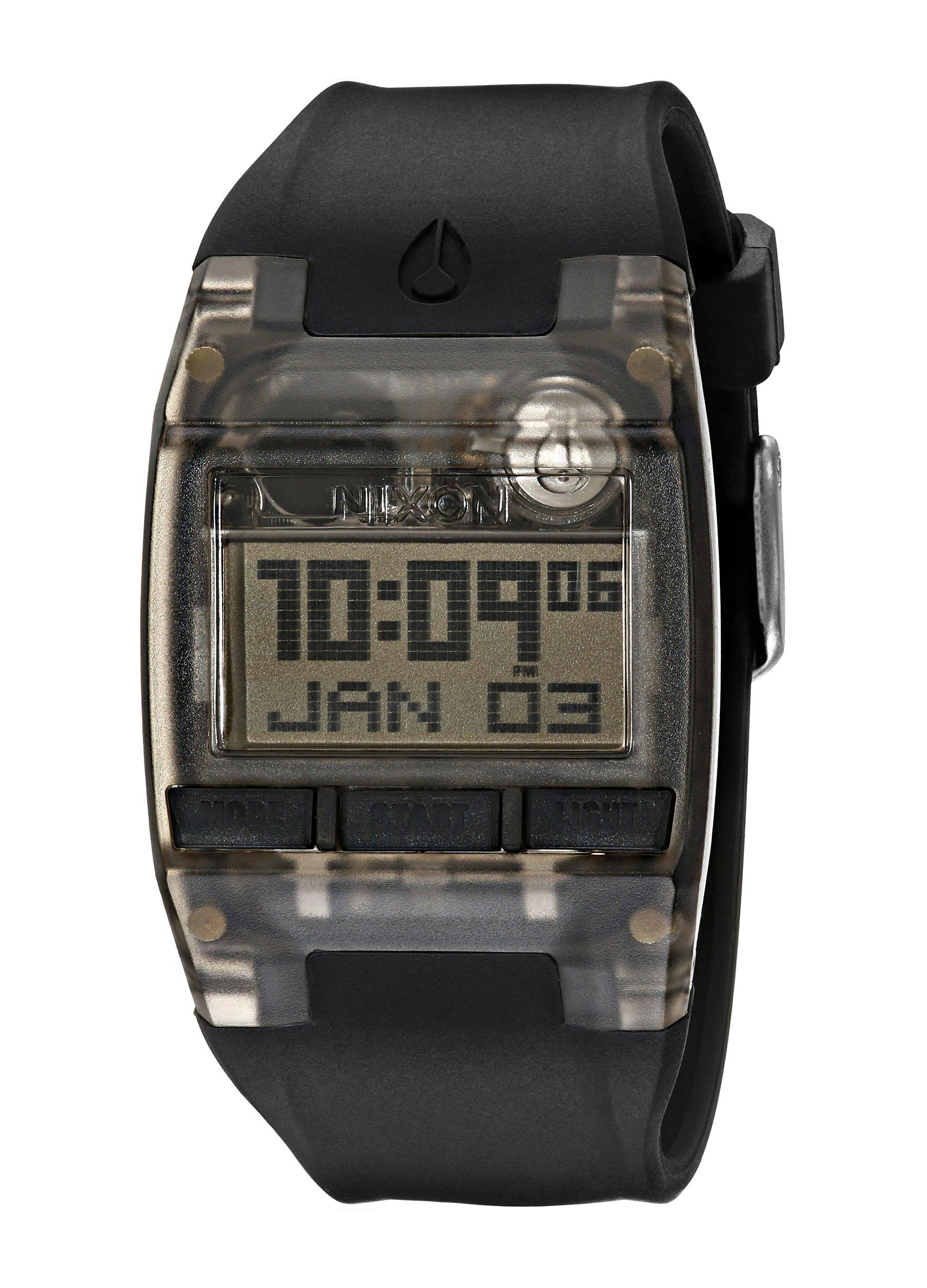 Nixon Men's A408001 Comp Digital Display Japanese Quartz Black Watch