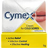 6 x Cymex Cream for Cold Sores Antibacterial 5g
