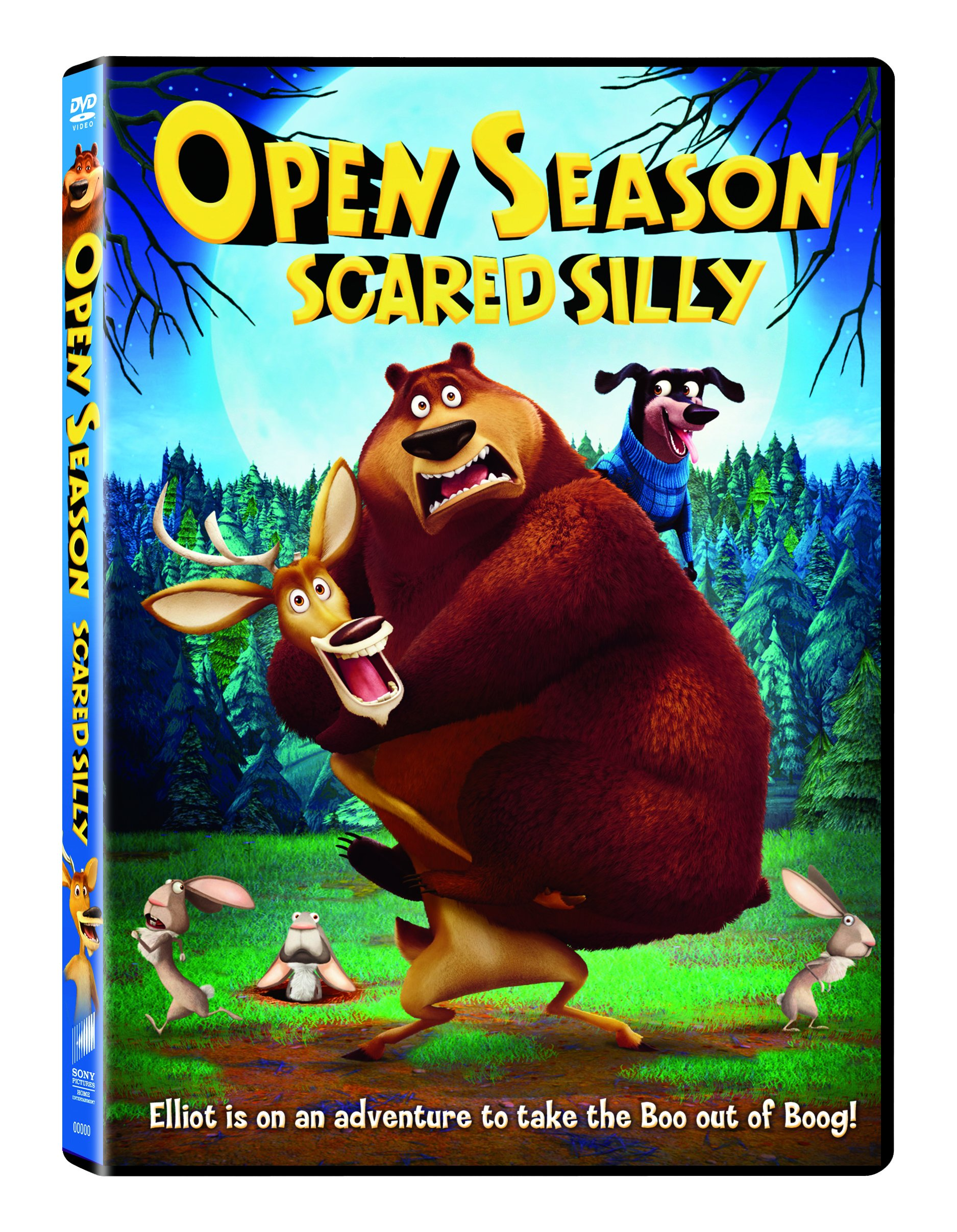 DVD : Open Season: Scared Silly (DVD)