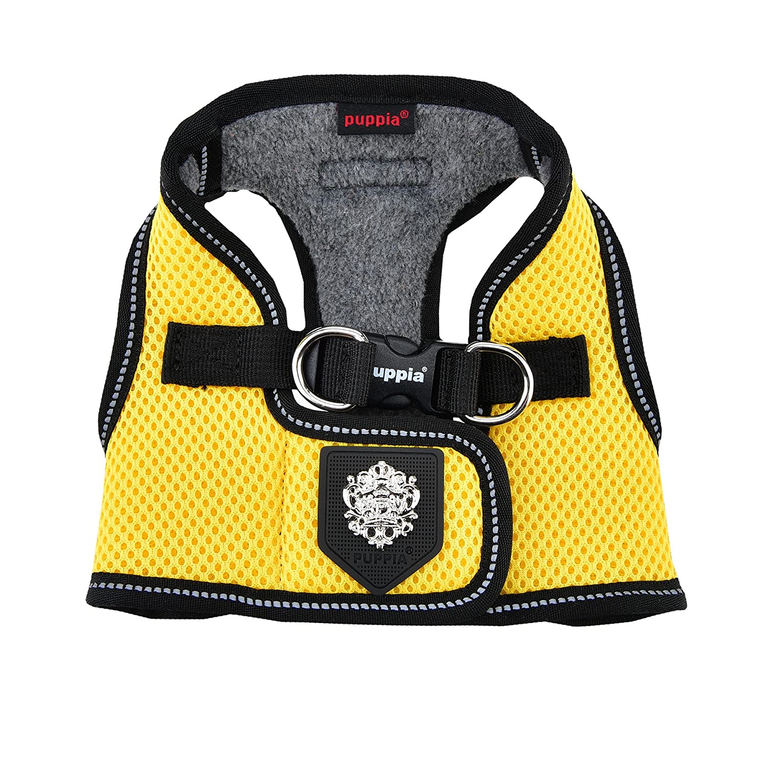 Puppia Thermal Soft Vest Harness®, Medium, Yellow