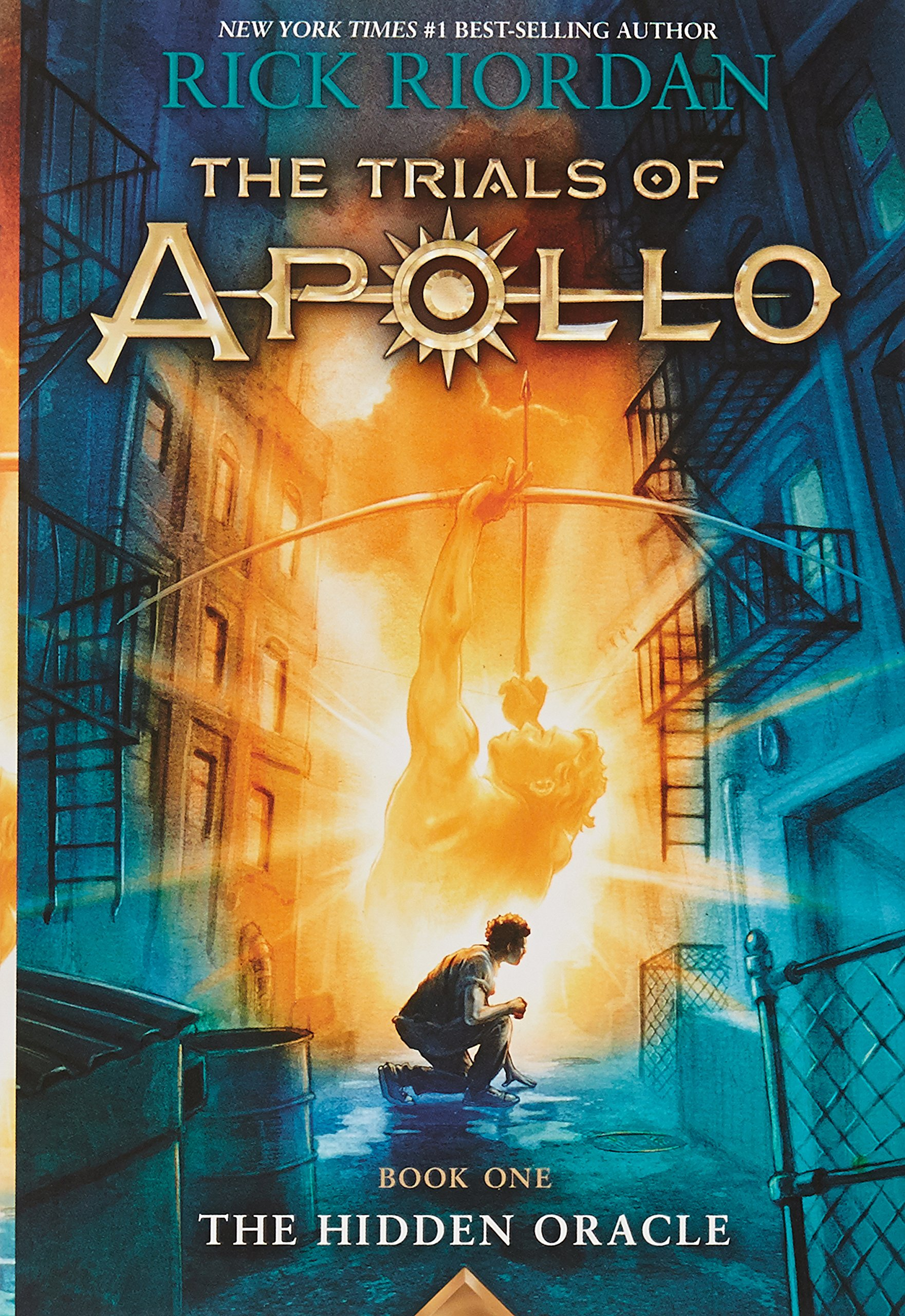 The Trials of Apollo Book 1 The Hidden Oracle Rick Riordan