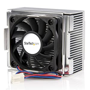StarTech.com 85x70x50mm Socket 478 CPU Cooler Fan with Heatsink & TX3 Connector (FAN478)