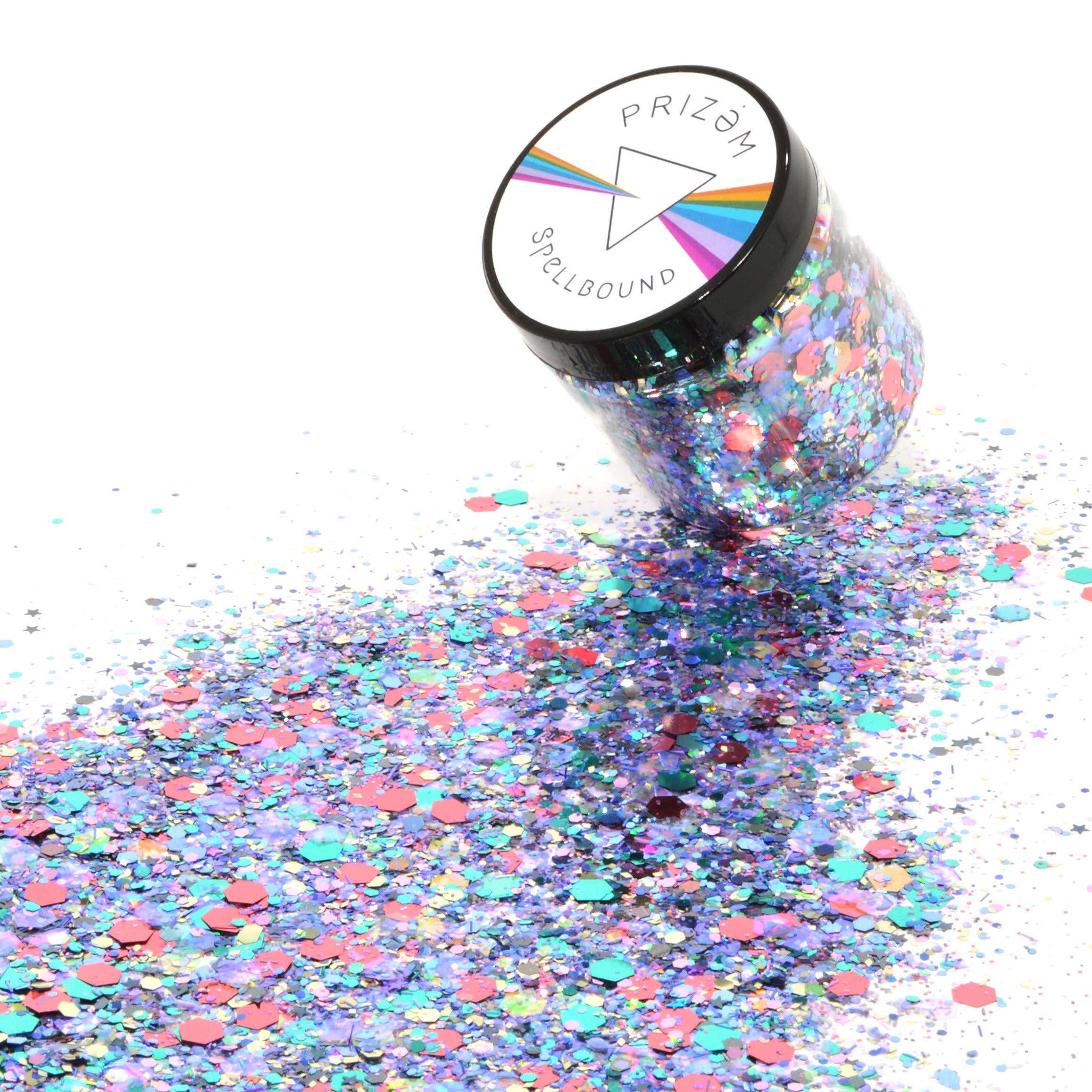 Spellbound Glitter ▽ 60g ▽ Festival Glitter , Chunky Glitter , Makeup Glitter , Face Glitter , Body Glitter , Glitter Makeup , Hair Glitter , Cosmetic Glitter , Nail Glitter , Eyeshadow Glitter