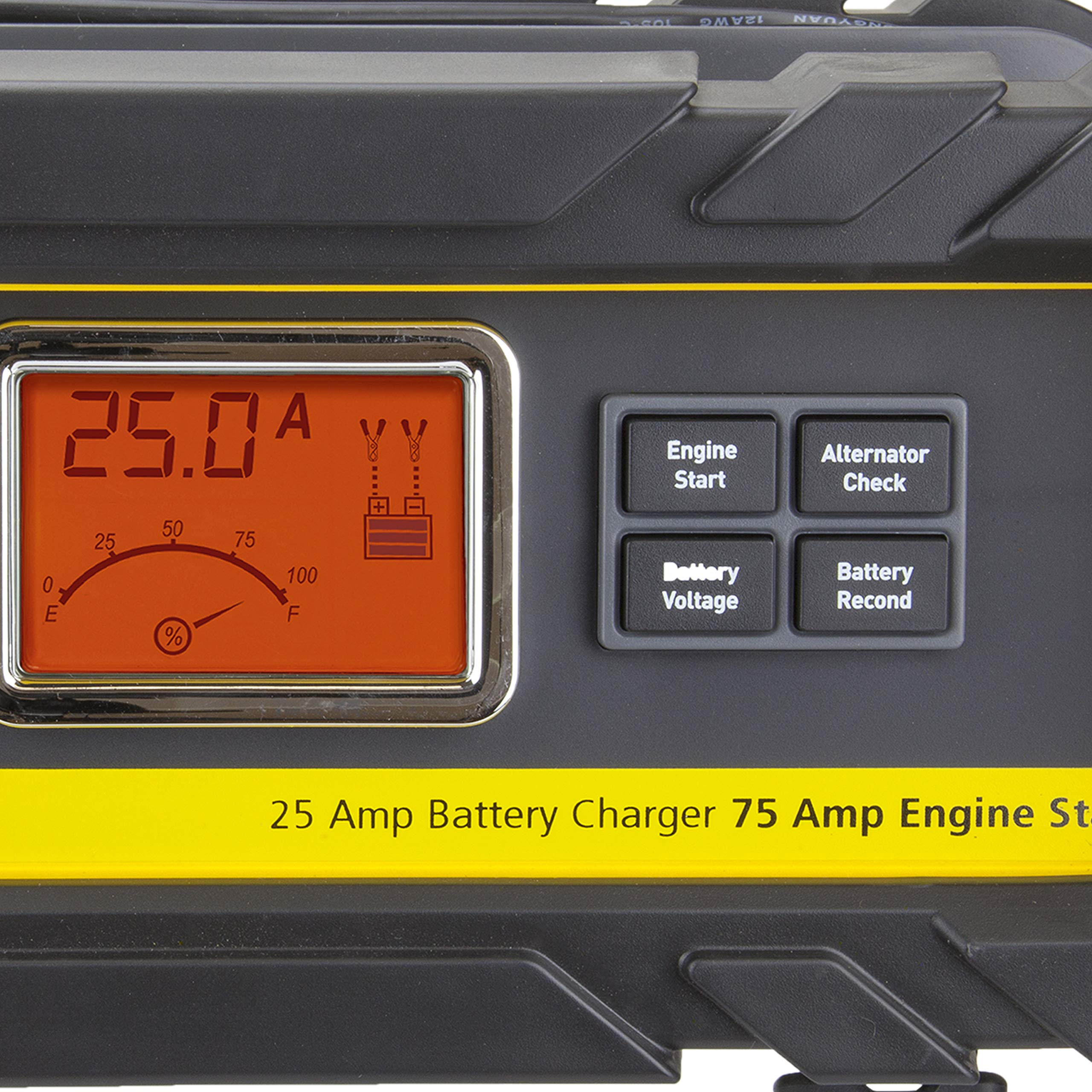 STANLEYBC25BS Automatic 25A12V Bench Battery Charger//Maintainer 75A Engine Start