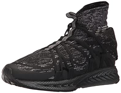 PUMA Men s Ignite Evoknit Fold CF Sneaker Black-Quiet Shade a029e595d