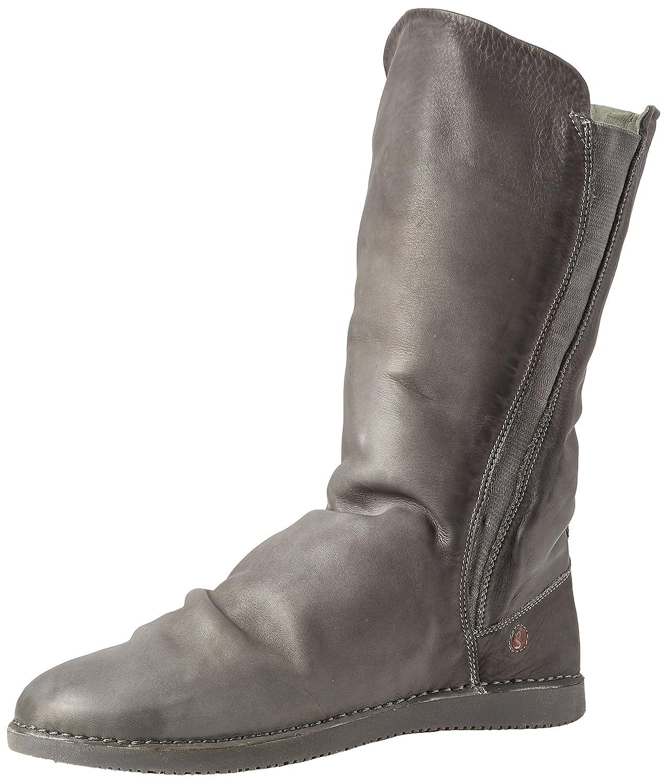 Softinos Damen Teya328sof Washed Leather Stiefeletten