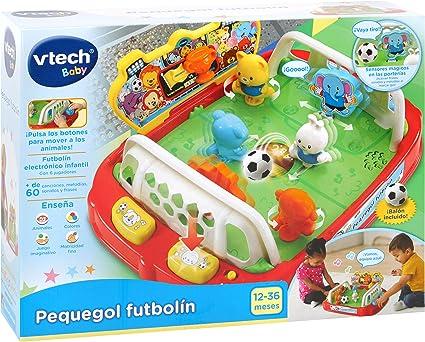 VTech-3480-503822 Pequegol Futbolín, Multicolor (3480-503822 ...