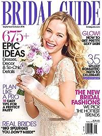 Amazon discount magazines bridal weddings magazine bridal guide junglespirit Choice Image