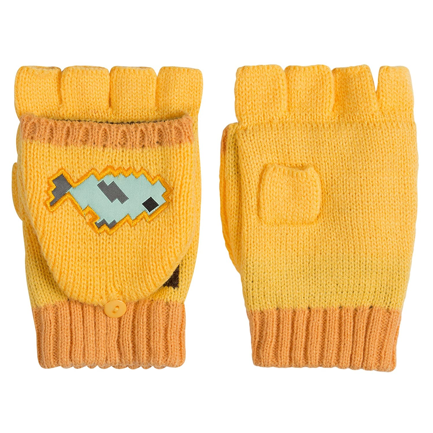 Official Minecraft - Ocelot - Mittens in Yellow J!NX MJMC-06279G-YWA-OS