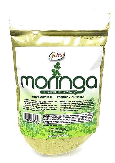 Ibitta® Moringa Green Leaf Powder 100% Natural Pure Raw Moringa Oleifera Non-GMO