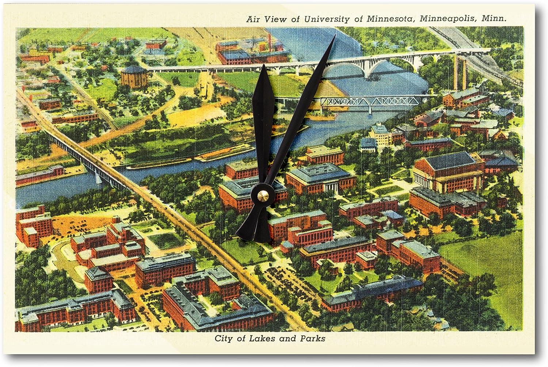 Minneapolis, Minnesota – Antena view de Universidad de MN ...