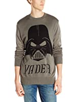 Star Wars Men's Darth Vader Mask Sweater